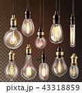 ライト 光 明かりのイラスト 43318859