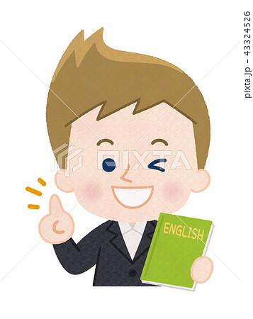外国人の教師 男性 43324526