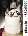 ケーキ ウエディング デザートの写真 43326550