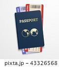 パスポート 旅券 チケットのイラスト 43326568