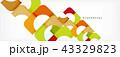 抽象的 ベクター 広場のイラスト 43329823