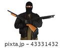 銃 強盗 男の写真 43331432