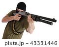 銃 強盗 男の写真 43331446