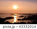 九十九島 夕焼け リアス式海岸の写真 43332014