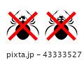 クモのイラスト 43333527