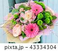 花束 花 ピンクの写真 43334304