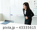 腹痛 痛い ビジネス ビジネスウーマン  43335615