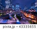 東京駅 夜景 丸の内の写真 43335655