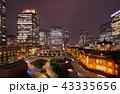 東京駅 夜景 丸の内の写真 43335656