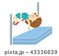 走り高跳びをする女性 43336639