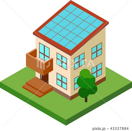 太陽光発電/家 43337884