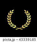 メダル アワード 月桂樹 成功 一番 勲章 ゴールドメダル 43339185