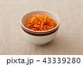 キャロットラペ サラダ 食べ物の写真 43339280