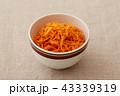 キャロットラペ サラダ 食べ物の写真 43339319