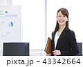ビジネス オフィス 女性の写真 43342664