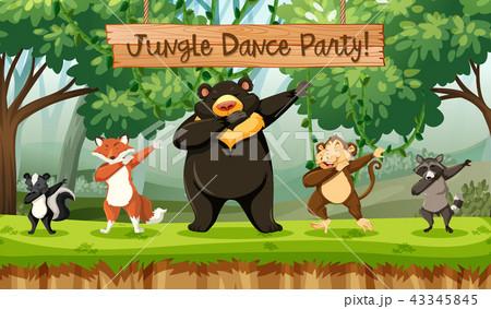 Jungle dance party animalsのイ...