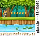 ゲーム デザイン 柄のイラスト 43345969