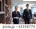 ビジネスマン オフィス ビジネスイメージ 43356770