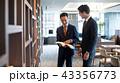 ビジネスマン オフィス ビジネスイメージ 43356773