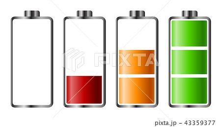 Set of battery charge level indicator 43359377