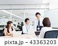 会議 ビジネス ビジネスウーマンの写真 43363203