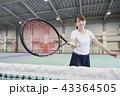 テニス 女性 43364505