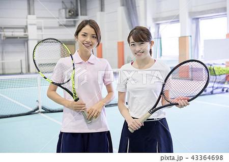 テニス 女性 43364698