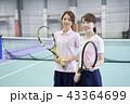 テニス 女性 43364699