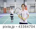 テニス 室内テニス テニススクールの写真 43364704