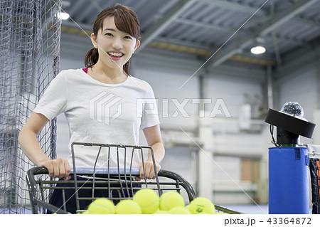テニス 女性 43364872