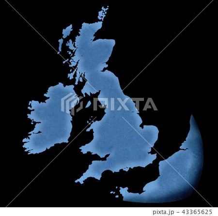 手描き 地図 古地図 テクスチャー 43365625