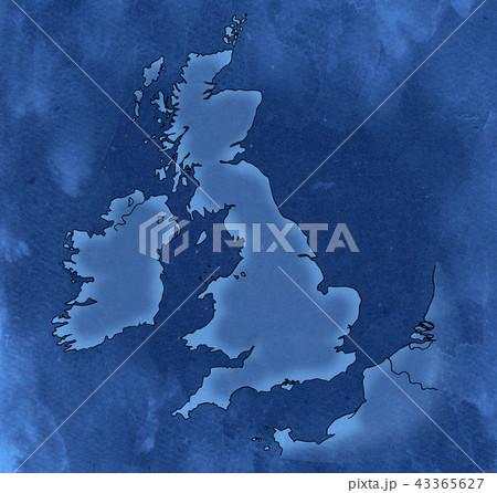 手描き 地図 古地図 テクスチャー 43365627
