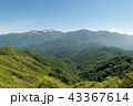 赤兎山 展望 眺望の写真 43367614