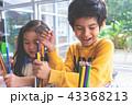 教室 教室風景 絵の写真 43368213