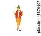 女性 メス 女のイラスト 43370407