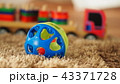 Old vintage wood toys for baby or kids 43371728
