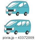 車 自動車 自家用車のイラスト 43372009