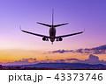 伊丹空港 夕景 43373746