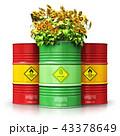 バイオ燃料 樽 バレルのイラスト 43378649