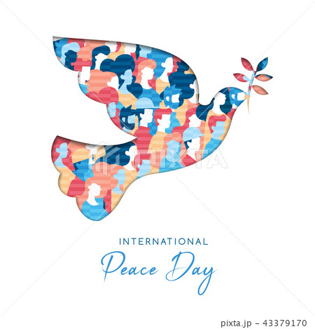 International Peace Day card for people freedom 43379170