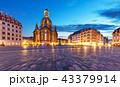 ドレスデン ドイツ 夜の写真 43379914