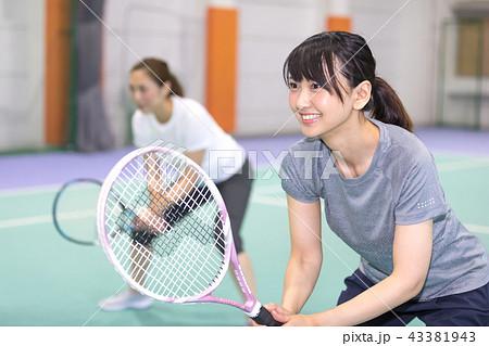 スポーツジム テニス 43381943