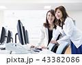 ビジネス オフィス パソコンの写真 43382086