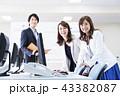 ビジネス オフィス ビジネスマンの写真 43382087