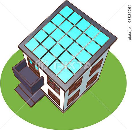 太陽光発電/家 43382264