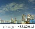 隅田川 東京 夜景の写真 43382918