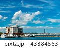 風景 門司港レトロ 晴れの写真 43384563
