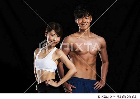フィットネス 筋肉 43385833