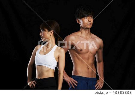 フィットネス 筋肉 43385838