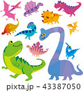恐竜キャラクター 43387050